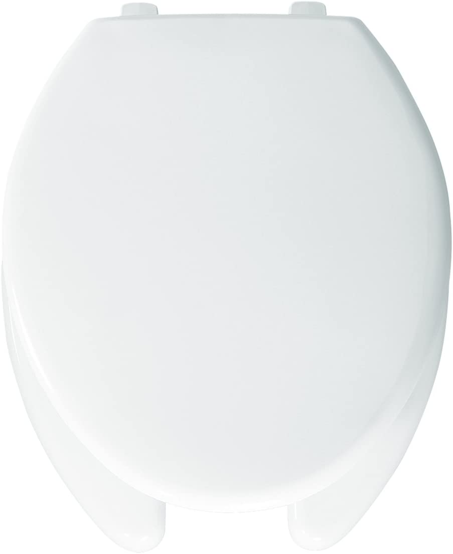Bemis 1250TT000 safety Plastic Elongated Toilet With an Front Seat shopping Open