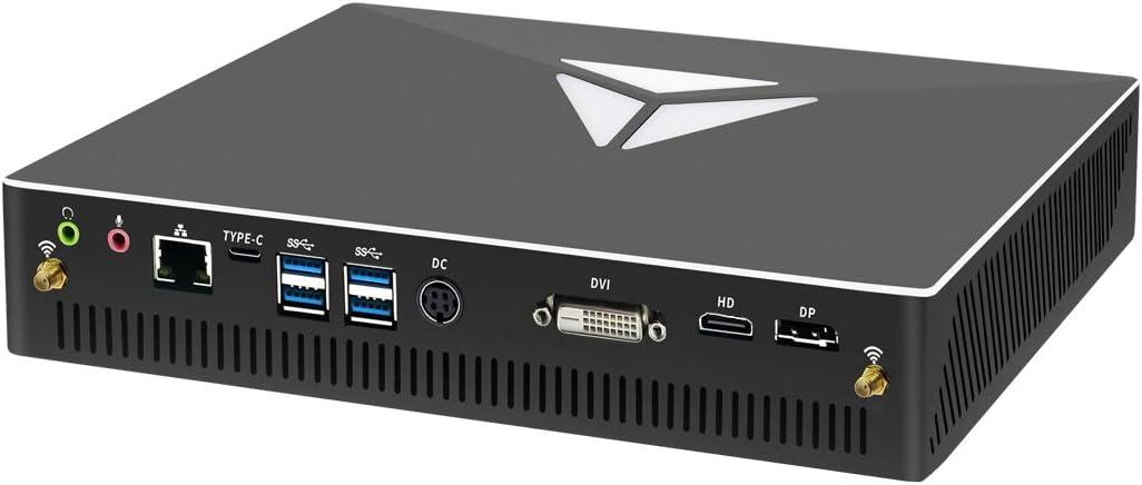 MSECORE Mini Desktop PC, Micro Computer with Intel Core i9-9900 Max 5.00GHz, 32G DDR4  1T SSD, GTX1060, 4K, Dual Monitor Capable, WiFi, Bluetooth, Win10 Pro