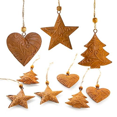 Decoración Navidad Arbol Vintage decoración navidad arbol  Marca Logbuch-Verlag