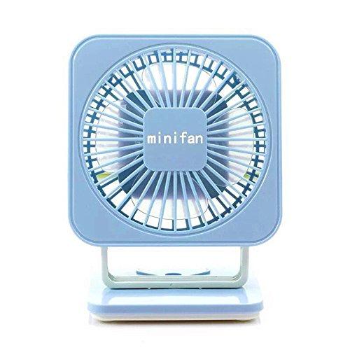 Mini-USB mini ventilatore ventola minimalista studenti carica mute piccole ventole, blu
