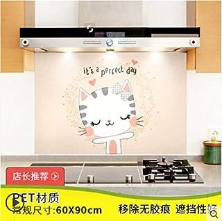 Cuisine étanche à l'huile autocollant poêle tuile étanche papier autocollant armoire de cuisine 10