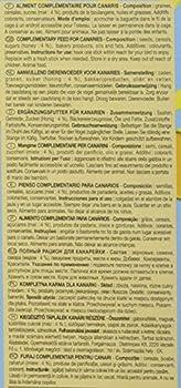 Riga Nourriture Sticky boîtes de 2 Canaris Miel pour Oiseaux