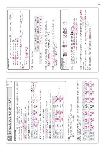 旺文社『基礎からのジャンプアップノート無機・有機化学暗記ドリル』