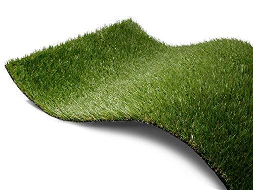 Kunstrasen Rasen-Teppich Meterware - ARIZONA, 2,00m x 3,00m, Hochwertiger, UV-Beständiger, Wasserdurchlässiger Outdoor Bodenbelag für Balkon, Terrasse und Garten