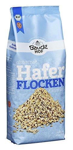 Bauckhof Bio Bauck Bio Haferflocken Kleinblatt, glutenfrei (8 x 475 gr)