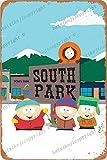 Cimily South Park Poster Vintage Blechschild Eisenmalerei