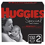 Huggies Special Delivery Hypoallergenic Baby Diapers, Size 2, 132 Ct, One Month Supply