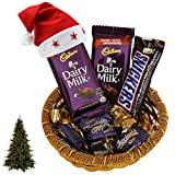 SFU E Com Chocolate Basket Gift Pack | Christmas Chocolate Gift Combo | Christmas Chocolate Hamper...