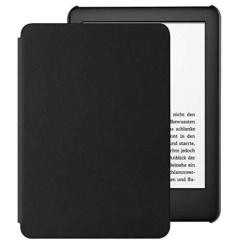 EasyAcc Hülle für Kindle 2019 (10.Generation 2019 Release), Ultra Dünn Smartshell Case mit Auto Sleep/Wake up Funktion Kompatibel für Modelle der Kindle 2019 - Schwarz
