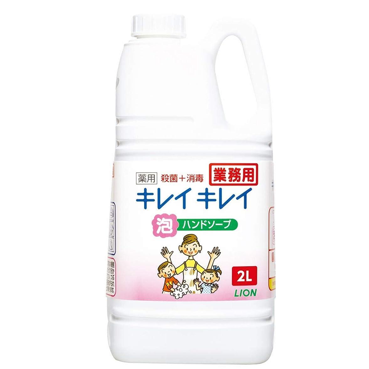 タブレットシンボル財政【業務用 大容量】キレイキレイ 薬用 泡ハンドソープ シトラスフルーティの香り 2L(医薬部外品)