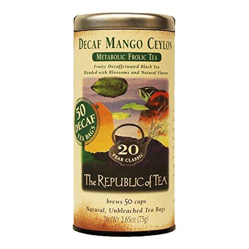 The Republic of Tea Mango Ceylon Decaf