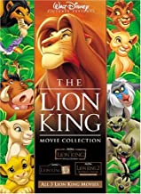 The Lion King Movie Collection (The Lion King / The Lion King 2: Simba's Pride / The Lion King 1 1/2)