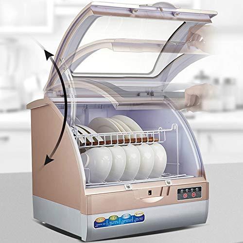 NTMD Lavavajillas, 800W Inteligente lavaplatos automático de Escritorio Mini hogar Seca pequeña de Aire de la máquina lavavajillas Inteligentes