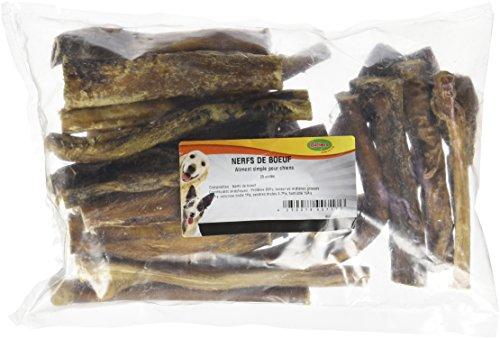 Bubimex Nerfs de Bœufs Friandise pour Chien 12 cm 25 Pièces