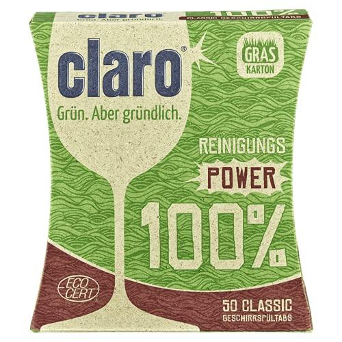 greenist Pastillas para lavavajillas Claro, clásicas, 1 x 50 unidades