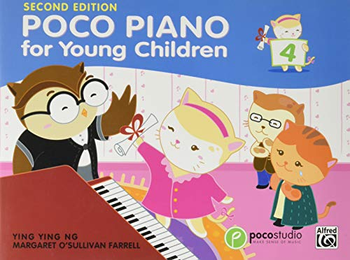 Ng, Y: Poco Piano for Young Children Book Four (Poco Studio, Band 4)