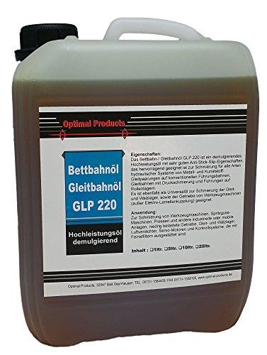 Gleitbahn Bettbahnöl Hochleistung Gleitbahnöl GLP 220 / 5 Liter