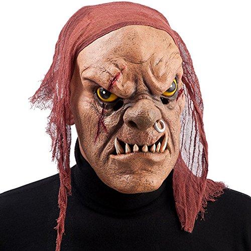 Masque Monstre Pirate Adulte Ogre - Halloween Deguisement Accessoire - 278