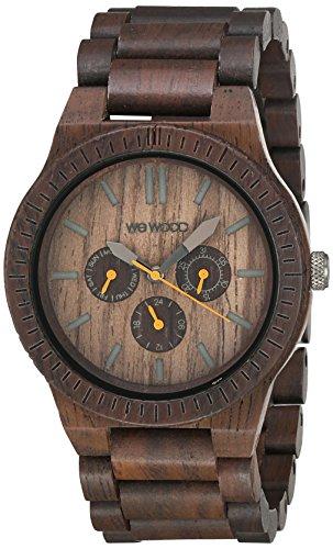 WEWOOD Quarzuhr Kappa Chocolate WW15003