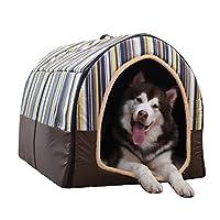 CHSY Pet bed 犬のベッド - ペットハウスの猫の家二重使用の巣のリムーバブルと洗濯可能な犬の家四季ユニバーサルペットネストペット用品/ 3スタイル (Color : B)