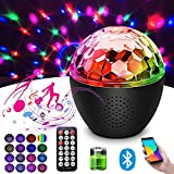 16 Colors Sound Activated Disco Ball Light,4W RGB Party Lights with Remote Control,Dance