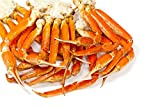 Wild Caught Canadian Snow Crab- [FROZEN] ((4 lbs) 4 oz Canadian Snow Crab Clusters)