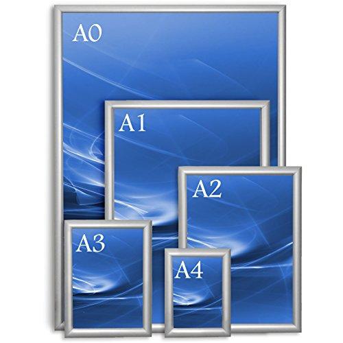 Bilder Wechselrahmen Opti Clic | zur Wandaufhängung - 25mm Rahmenbreite | verschiedene Größen verfügbar - DIN A2