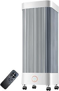 Calentador ZHIRONG Radiador eléctrico, calefacción de cerámica de PTC + calefacción de Fibra de Carbono, con Control Remoto y Temporizador Ajuste de 2 velocidades 550W / 2000W F
