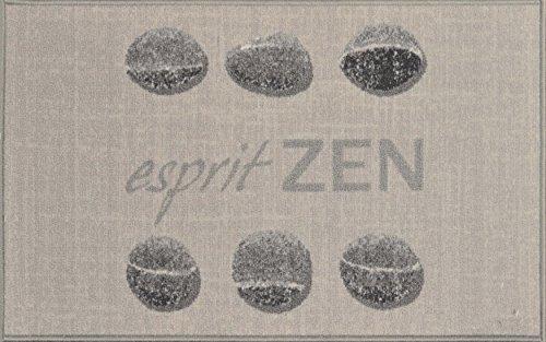 douceur d'intérieur tapis rectangle 50x80 cm esprit zen