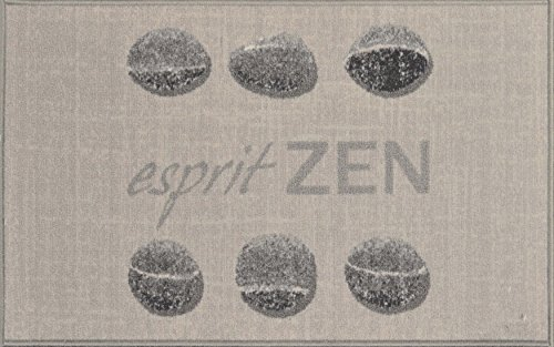 Tapis Deco 1740094 - Felpudo 80 x 50 cm, diseño Zen Spirit