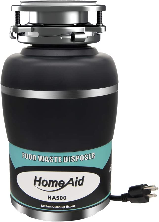 Garbage Disposal 1 2 Max 71% OFF HP HomeAid with P Columbus Mall Disposer Waste Food Quiet