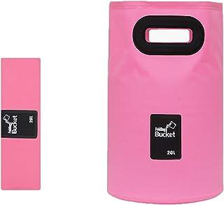 VISZC Seau Pliable Portable Seau d'eau Pliable adapté au Camping, pêche, Plage, Lavage de Voiture, Usage Domestique, capac...