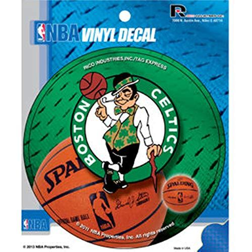 Boston Celtics Decal 4' Round Vinyl Auto Home Window Bumper Sticker Basketball