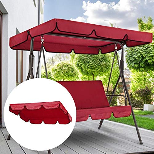 2/3-Person Converting Outdoor Patio Canopy Swing...