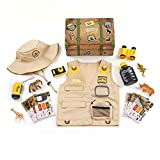 National Geographic Kids Safari Time Dress Up Trunk, 17 pieces, Amazon Exclusive, by Just Play