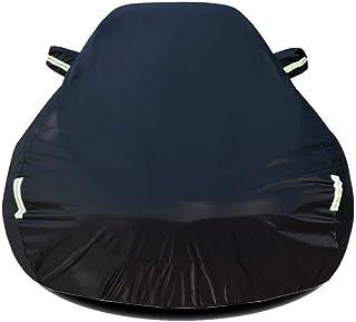 Autoabdeckung Kompatibel mit Chrysler 300C Touring Auto Abdeckplane Autoabdeckung Vollgarage Outdoor Autoschutzdecke Auto Autogarage Vollgarage mit Reflexstreifen Wasserdicht Autoplane Ganzgarage