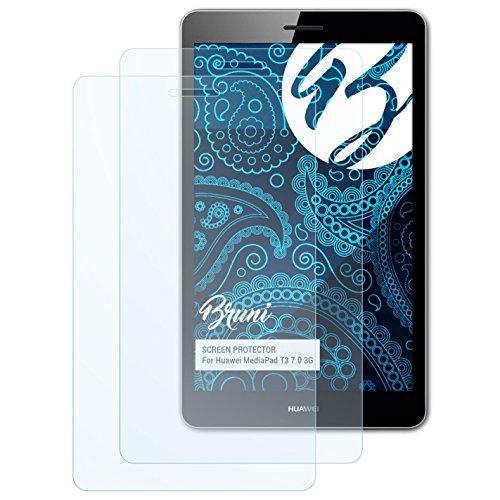 Schutzfolie kompatibel mit Huawei MediaPad T3 7.0 3G Folie, glasklare Displayschutzfolie (2X)