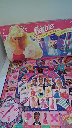 Barbie 1990 Edición Queen of The Prom Game (1991 Fabricado en EE.UU.)