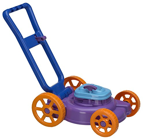 Product Image of the American Plastic Toys Kids' Nesting Lawn Mower with Pull Starter, Power...