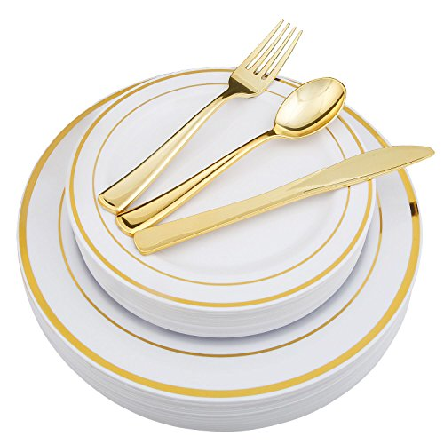 Top 10 bridal shower plates gold for 2020