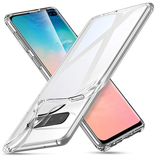 ESR Cover per Samsung Galaxy S10 Plus, Custodia Essential Zero in TPU Morbido, Sottile e Trasparente Compatibile con Galaxy S10 Plus/S10+, Custodia Morbida in Silicone Flessibile-Gelatina Trasparente