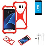 K-S-Trade® Mobile Phone Bumper + Earphones For Vernee Mars