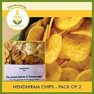 Grand Sweets and Snacks (GSS) Nendhiram Chips (Pack of 2) Each Pkt 250g (B-P)