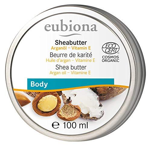 eubiona Sheabutter mit Arganöl & Vitamin E (100 ml)