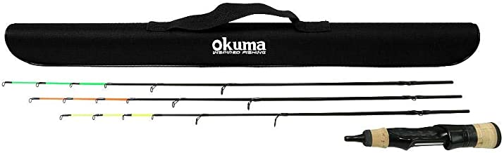 Okuma Rods Trio Pro Ice Ul/L/Ml 2-Pcs