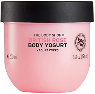 THE BODY SHOP BRITISH ROSE BODY YOGURT
