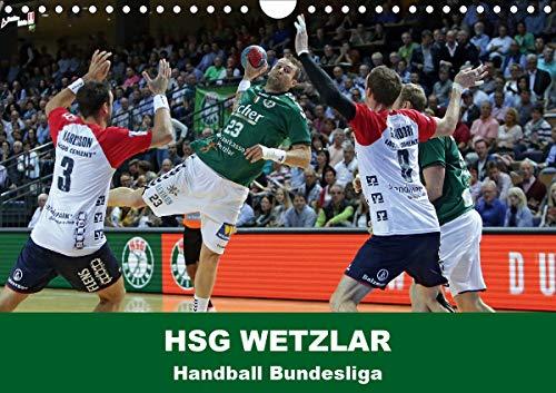 Handball Bundesliga - HSG Wetzlar (Wandkalender 2021 DIN A4 quer)