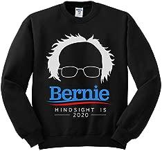 TeesAndTankYou Bernie Sanders Hindsight is 2020 Sweatshirt Unisex