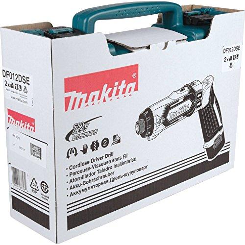 Makita DF012DSE 7.2V Lithium-Ion Cordless 1/4