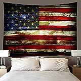 shuimanjinshan Wandteppich Wandbehänge Vereinigte Staaten Tapisserie Wandtuch Hausdeko Strandtuch Tagesdecke Boho Deko (A-934) 240X260Cm